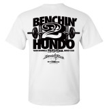 200 Bench Press Club T Shirt White