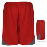 Ironville Gym Shorts Back Red