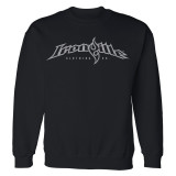 Ironville Gym Sweatshirt Full Horizontal Logo Front Black