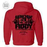450 Bench Press Club Hoodie Red