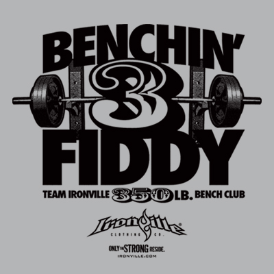 Ironville Bench Press Club - 350 Pound