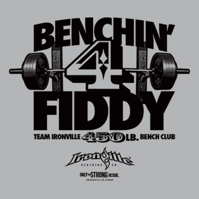 Ironville Bench Press Club - 450 Pound