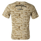 Ironville Weightlifting T Shirt Back Sand Digital Camo