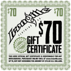 Bodybuilding Gym Clothes Holiday Gift Certificate 70