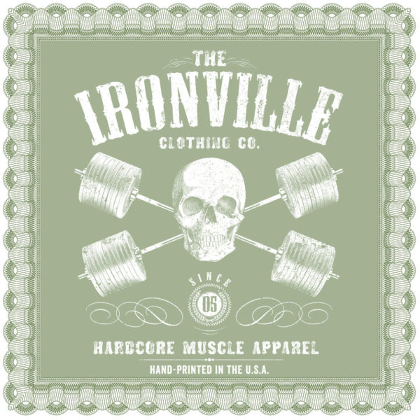 Ironville Clothing Gift Certificate Gift Card Back