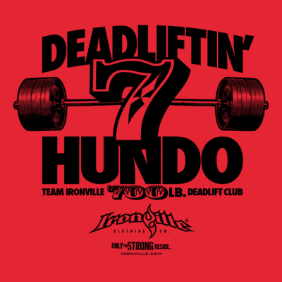 Ironville Deadlift Club - 700 Pound