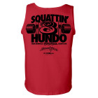 800 Squat Club Tank Top Red