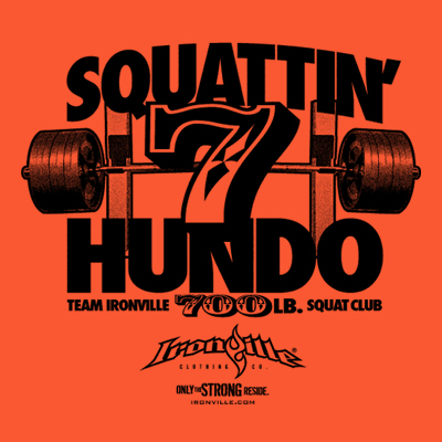 Ironville Squat Club - 700 Pound