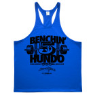 500 Bench Press Club Stringer Tank Top Royal Blue