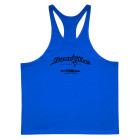 Ironville Weightlifting Stringer Tank Top Back Royal Blue