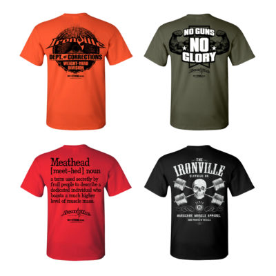 Ironville Size Small T Shirts On Sale 2017
