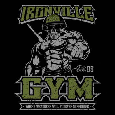 Ironville Gym Military - Where Weakness Will Forever Surrender