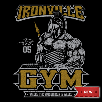 Ironville Gym Warrior - Where the War on Iron is Waged.