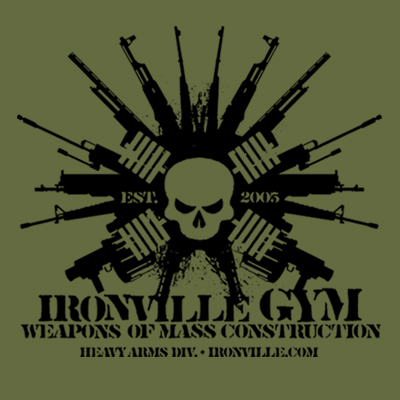 Ironville Gym Weapons of Mass Construction - Heavy Arms Division