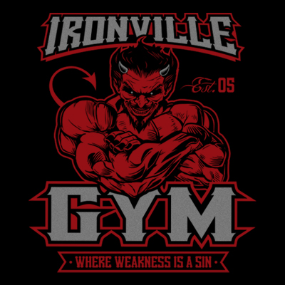 Ironville Gym Devil - Where Weakness Is A Sin