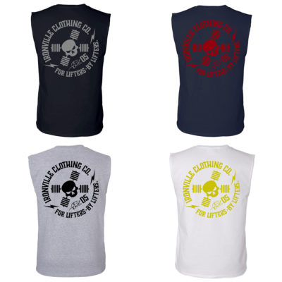 Ironville For Lifters Powerlifting Bodybuilding Sleeveless T Shirts 2021