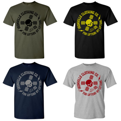 Ironville For Lifters Powerlifting Bodybuilding Tshirts 2021